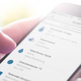 Smart Home App Anwendung