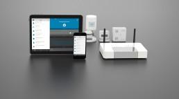 AFRISO Smart Home Übersicht Produkte Gateway App Aktoren Sensoren