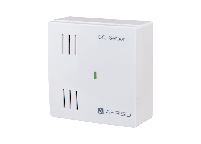 AFRISO Smart Home Produkt Funk CO2 Sensor front
