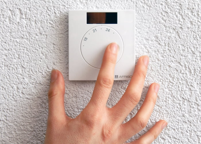 AFRISO Smart Home Anwendung Funk Raumfühler Temperatur und Feuchte FTF