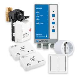 AFRISO Smart Home Starterset Wasserleckage Sicherheit