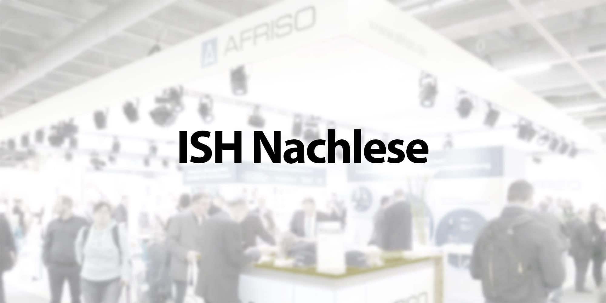 Logo Messe ISH Nachlese